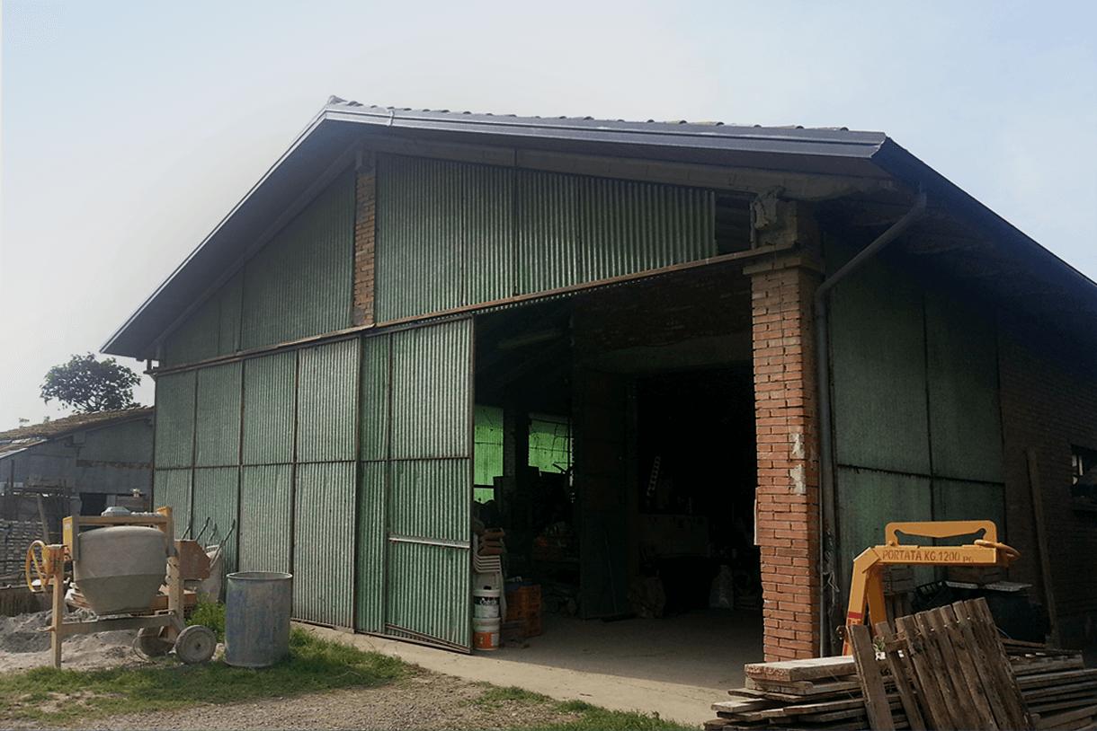 Deposito agricolo M. /Crevalcore